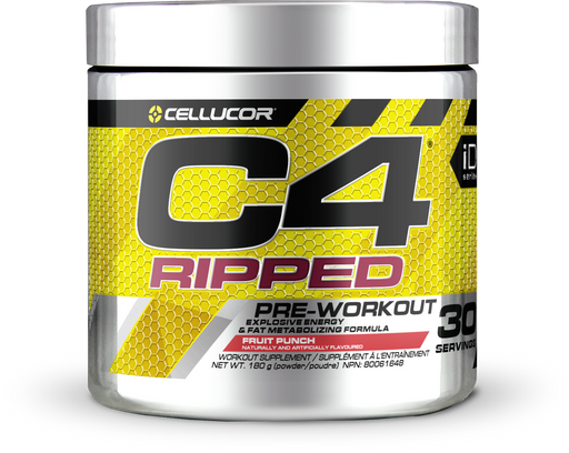Cellucor C4 Ripped Pre-Workout Fruit Punch 180 g