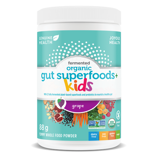 Genuine Health Fermented Organic Gut Superfoods+ Kids Grape 88 g