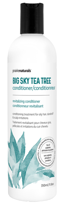 Prairie Naturals Big Sky Tea Tree Medical Conditioner 350 ml