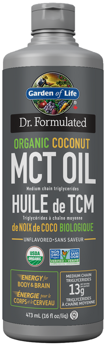 Garden of Life Dr. Formulated Organic Coconut MCT Oil 473ml