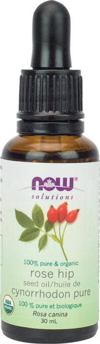 NOW Organic Rose Hip Seed Oil 30 ml