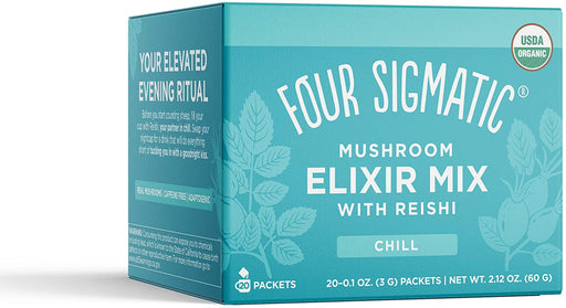 Four Sigmatic Reishi Mushroom Elixir Mix 20 x 3 g Packets