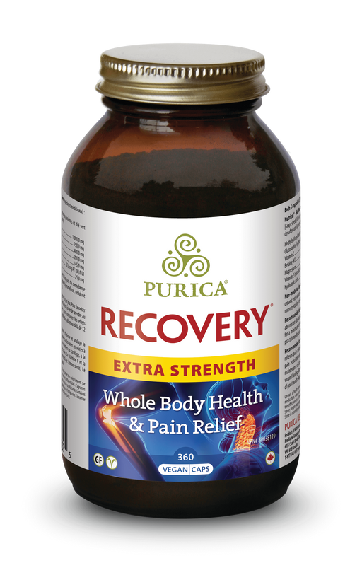 Purica Recovery Extra Strength 360 Capsules