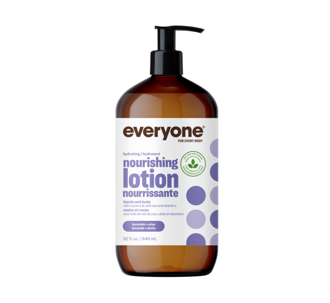 Everyone Hydrating Nourishing Lotion Lavender + Aloe 946 ml