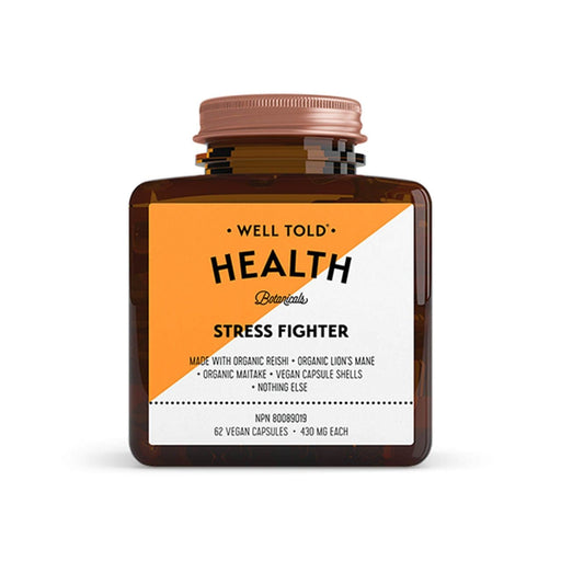Well Told Health Stress Fighter 430 mg 62 V-Caps
