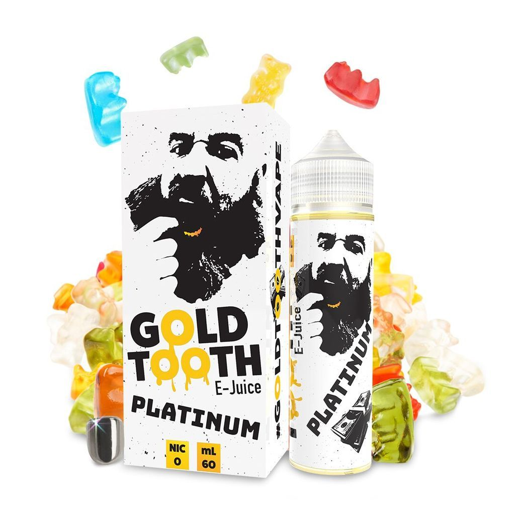 One Hit Wonder Gold Tooth | Platinum | 50ml Shortfill | 0mg