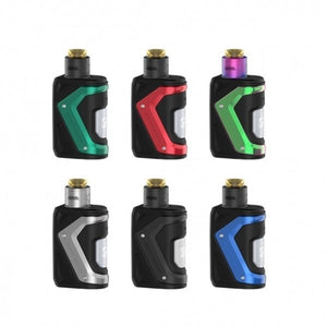 Geek Vape | Aegis Solo Tengu 2-In-1 100W Squonk Kit | Single 18650 | Comes with Squonk Section Included