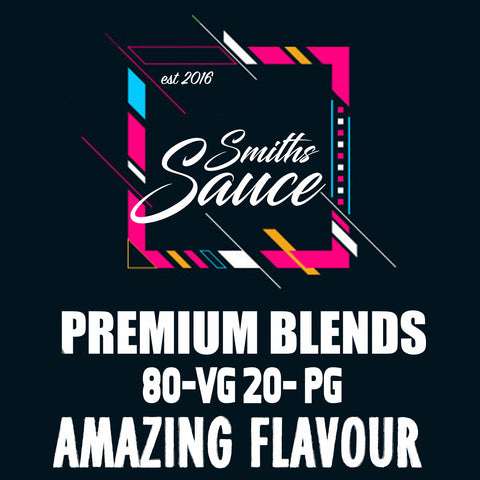 Smiths Sauce - Premium E Liquid Blends
