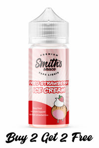 Smiths Sauce | Fried Strawberry Ice Cream E Liquid | 100ml