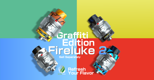 Freemax | Fireluke 2 Mesh Tank | Graffiti Edition | 2ml | 24mm