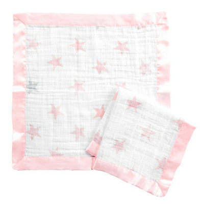 Aden by Aden and Anais - Security Blankets Comforter - Doll (set of 2)