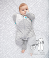 Love to Dream - Swaddle Up Transition SUIT - Warm (2.5TOG) - White