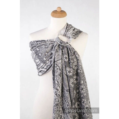 Lenny Lamb Ring Sling - Horizon's Verge Black and Cream - Ring Sling - Lenny Lamb - Afterpay - Zippay Carry Them Close