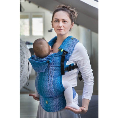 Lenny Lamb Ergonomic Carrier (BABY) - Little Love Ocean (Second Generation) - Baby Carrier - Lenny Lamb - Afterpay - Zippay Carry Them Close