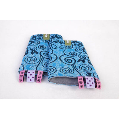 Lenny Lamb - Suck Pads and Reach Strap Set - Blue Princessa, , Carrier Accessories, Lenny Lamb, Carry Them Close  - 4