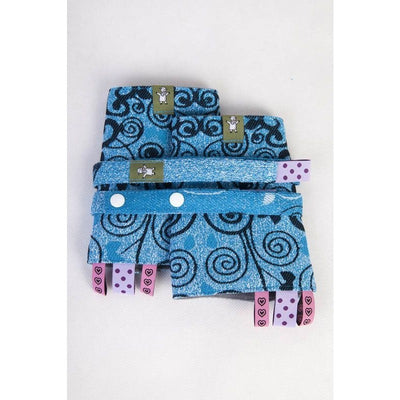 Lenny Lamb - Suck Pads and Reach Strap Set - Blue Princessa, , Carrier Accessories, Lenny Lamb, Carry Them Close  - 1