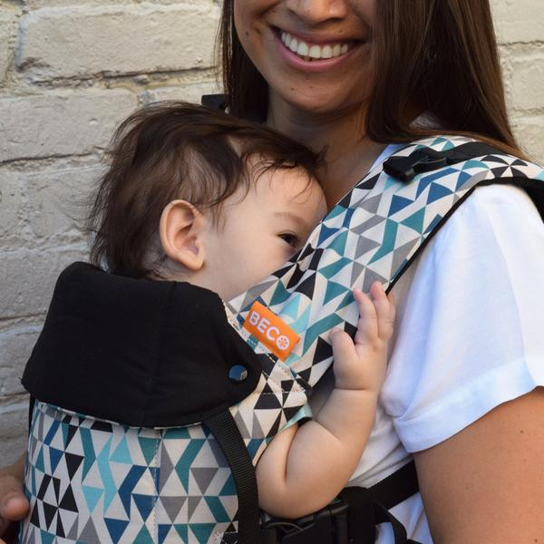 11af5fda889 Beco Baby Carrier - Beco Gemini Geo Teal - Carry Them Close