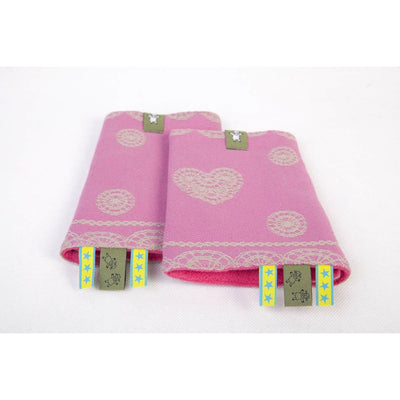 Lenny Lamb - Suck Pads and Reach Strap Set - Candy Lace, , Carrier Accessories, Lenny Lamb, Carry Them Close  - 3