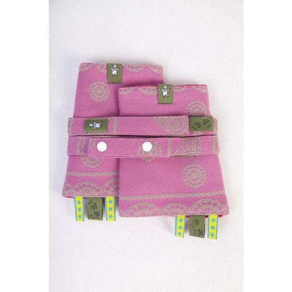 Lenny Lamb - Suck Pads and Reach Strap Set - Candy Lace, , Carrier Accessories, Lenny Lamb, Carry Them Close  - 1