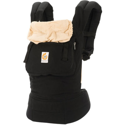 Ergobaby Original Carrier - Black / Camel - Baby Carrier - Ergobaby - Afterpay - Zippay Carry Them Close