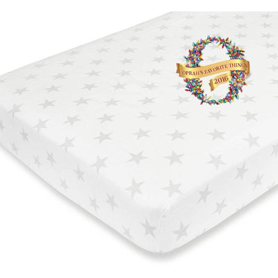 Aden and Anais - Cot Sheet Flannel Muslin - Fate - nursery - Aden and Anais - Afterpay - Zippay Carry Them Close