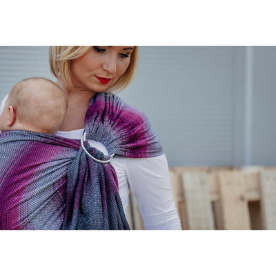 Lenny Lamb Ring Sling - Little Herringbone Inspiration - Ring Sling - Lenny Lamb - Afterpay - Zippay Carry Them Close