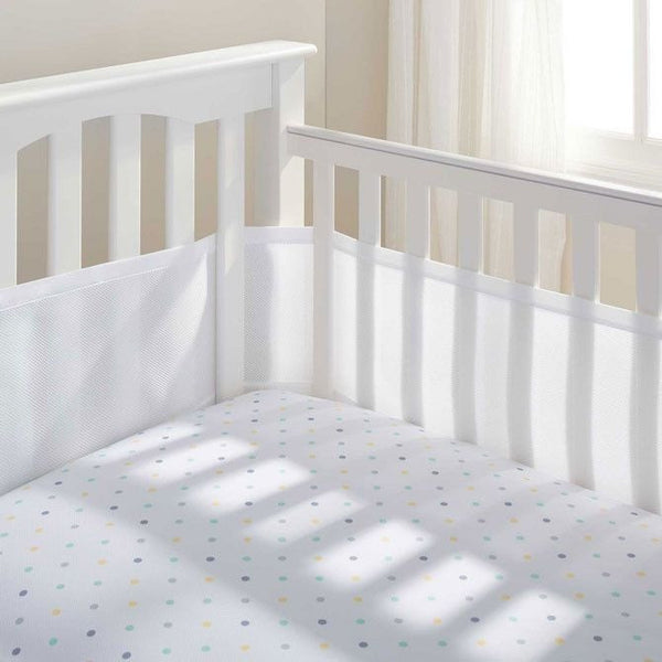 Breathable Baby - White Breathable Mesh Cot Liner (4 sides) - Cot Liner - Breathable Baby - Carry Them Close