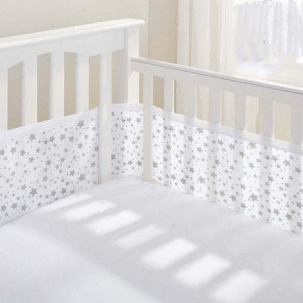 Breathable Baby - Breathable Mesh Cot Liner - Twinkle Twinkle (4 Sided) - Cot Liner - Breathable Baby - Carry Them Close