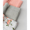 Little Unicorn - Cotton Muslin Baby Swaddle (Set 3) - Garden Roses