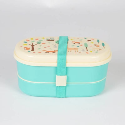 Sass & Belle Bento Lunch Box - Whimsical Woodland - Lunch & Snack Boxes - Sass & Belle - Afterpay - Zippay Carry Them Close