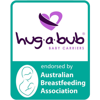 Hug a Bub Organic Lightweight Stretchy Wrap Carrier - Latte, , Stretchy Wrap, hug.a.bub, Carry Them Close  - 2