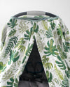 Little Unicorn - Car Seat Canopy - Tropical Leaf