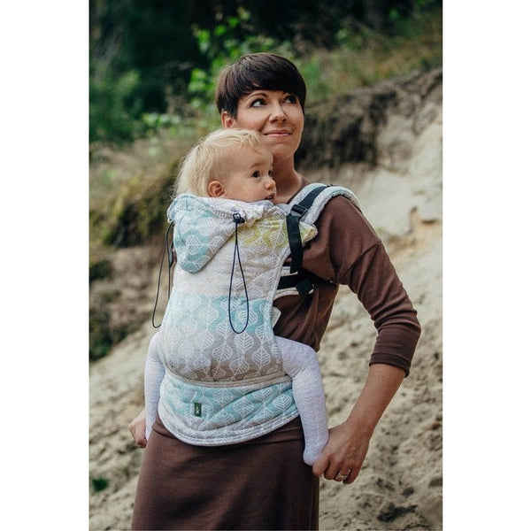 Lenny Lamb Ergonomic Carrier (BABY) - Daisy Petals (Silk, Wool, Cashmere, Cotton) (Second Generation), , Baby Carrier, Lenny Lamb, Carry Them Close  - 1