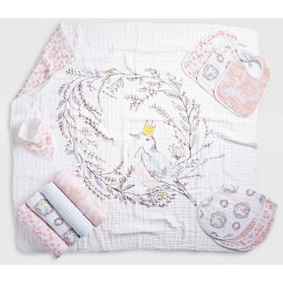 Aden and Anais - Classic Swaddles - Birdsong (4 Pack) - swaddle - Aden and Anais - Afterpay - Zippay Carry Them Close