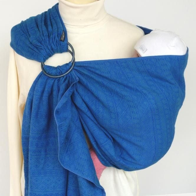 Didymos Ring Sling (DidySling) - Indio Ultramarine, , Ring Sling, Didymos, Carry Them Close  - 1