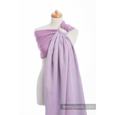 Lenny Lamb Ring Sling - Little Herringbone Purple - Ring Sling - Lenny Lamb - Afterpay - Zippay Carry Them Close