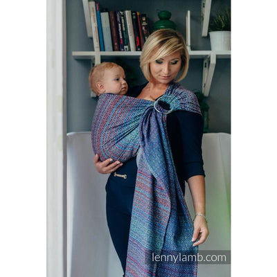Lenny Lamb Ring Sling - Big Love Sapphire - Ring Sling - Lenny Lamb - Afterpay - Zippay Carry Them Close