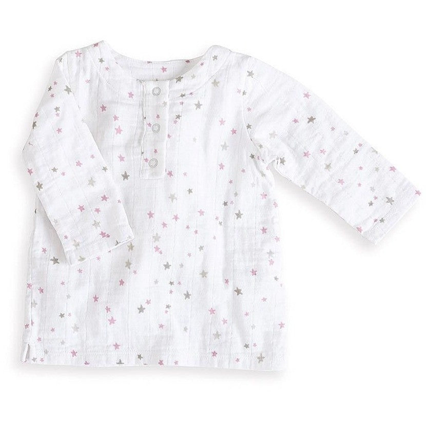 Long Sleeve Tunic Top - Lovely Star Burst - Clothing - Aden and Anais - Carry Them Close