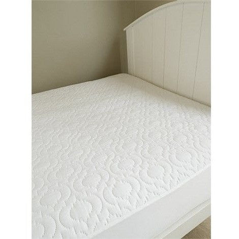Brolly Sheet - Mattress Protector Quilted - Fitted Single Bed, , Bedding, Brolly Sheets, Carry Them Close  - 1