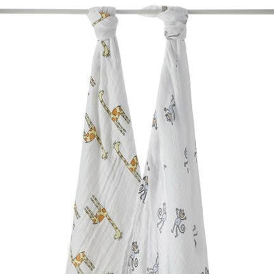 Aden and Anais - Swaddle - Jungle Jam (2 set) - swaddle - Aden and Anais - Afterpay - Zippay Carry Them Close