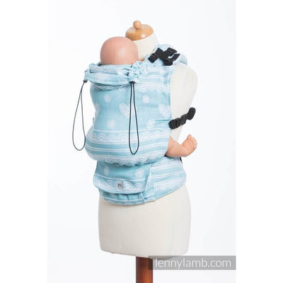 Lenny Lamb - LennyUp ARCTIC LACE (Silk) - Baby Carrier - Lenny Lamb - Afterpay - Zippay Carry Them Close