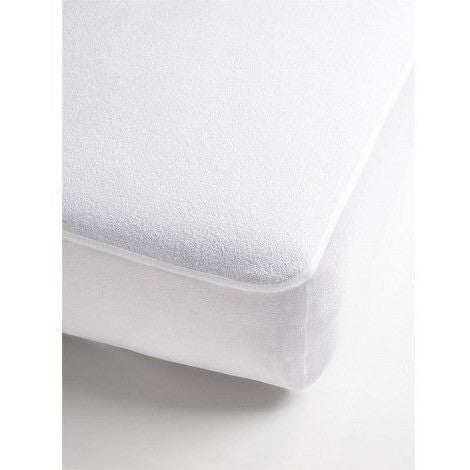 Brolly Sheet - Mattress Protector Waterproof Towelling - Fitted Single Bed, , Bedding, Brolly Sheets, Carry Them Close  - 1