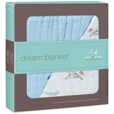 Aden and Anais - Dream Blanket Liam The Brave Flying Dog - Baby Blankets - Aden and Anais - Afterpay - Zippay Carry Them Close