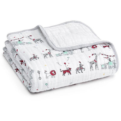 Aden and Anais - Dream Blanket Vintage Circus - Baby Blankets - Aden and Anais - Afterpay - Zippay Carry Them Close