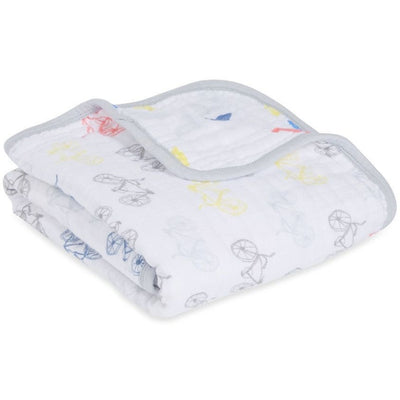 Aden and Anais - Stroller Blanket - Leader of the pack - Baby Blankets - Aden and Anais - Afterpay - Zippay Carry Them Close