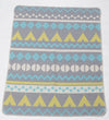 Emotion & Kids - Bassinet Blanket - BLUE JUWEL TEEPEES