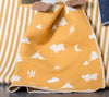 Emotion & Kids - Bassinet Blanket - GOLD CAMPING JUWEL