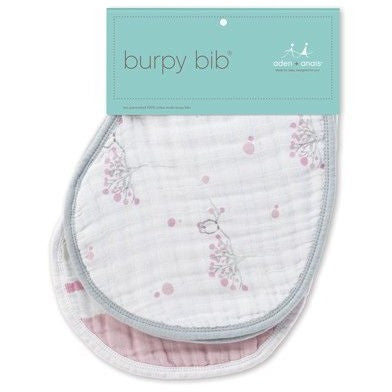 Aden and Anais - Burpy Bib (2 Set) - For The Birds - Clothing - Aden and Anais - Carry Them Close