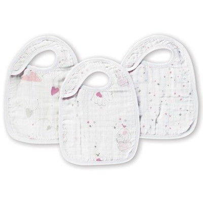 Aden and Anais - Snap Bib 3 Set - Lovely - Clothing - Aden and Anais - Afterpay - Zippay Carry Them Close