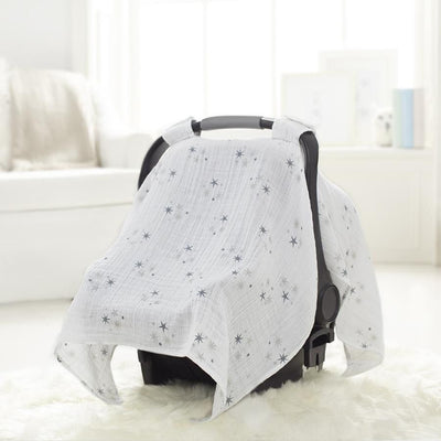 Aden and Anais - Car Seat Canopy - Twinkle Star, , Car Accessories, Aden and Anais, Carry Them Close  - 1